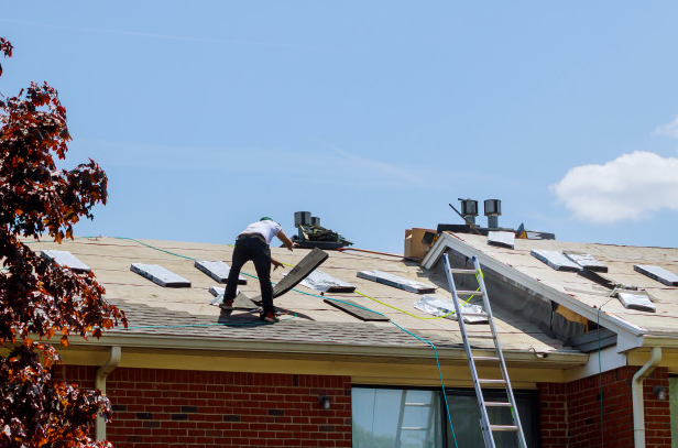 Hire Roofing Contractor for Roof Replacement